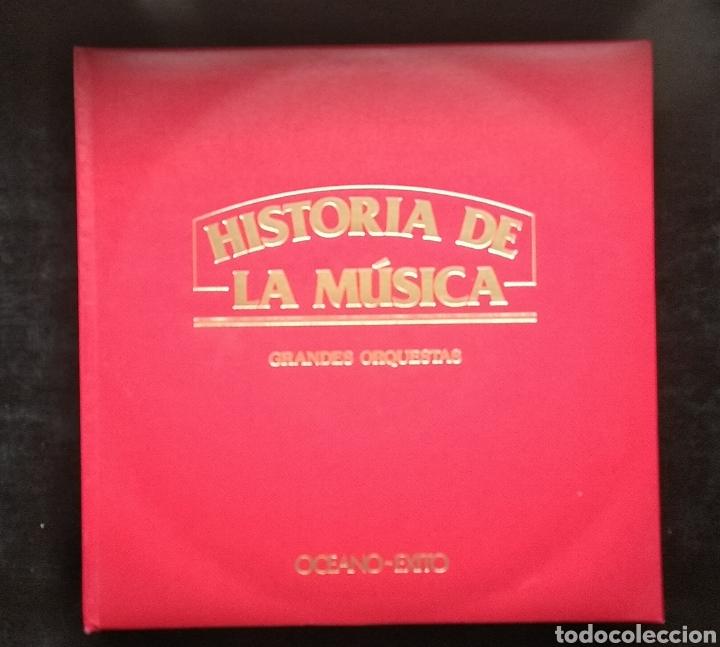 Discos de vinilo: LA MUSICA ELEGIDA-GRANDES ORQUESTAS - Foto 3 - 182248763