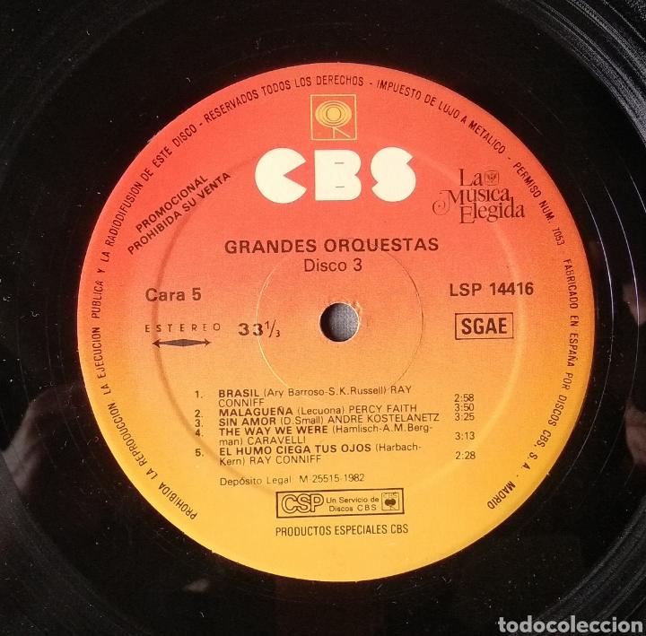 Discos de vinilo: LA MUSICA ELEGIDA-GRANDES ORQUESTAS - Foto 20 - 182248763