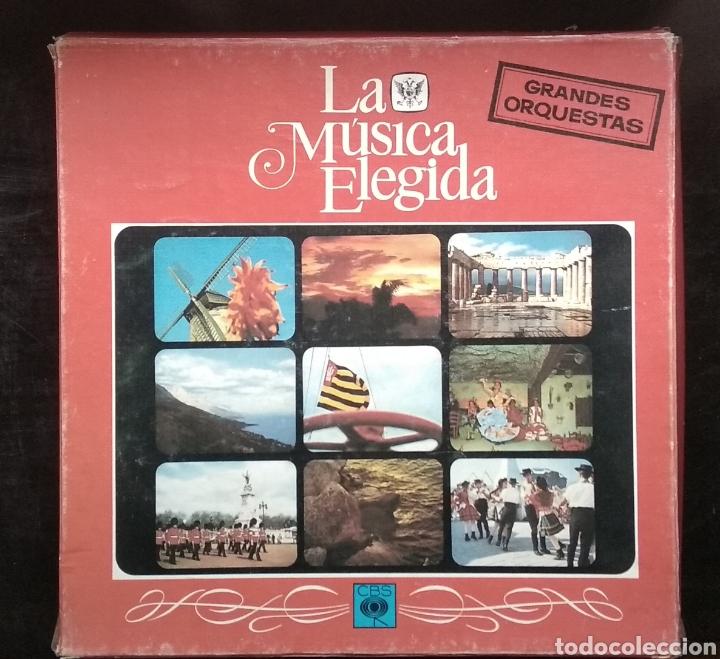 LA MUSICA ELEGIDA-GRANDES ORQUESTAS (Música - Discos - LP Vinilo - Jazz, Jazz-Rock, Blues y R&B)