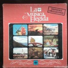 Discos de vinilo: LA MUSICA ELEGIDA-GRANDES ORQUESTAS. Lote 182248763