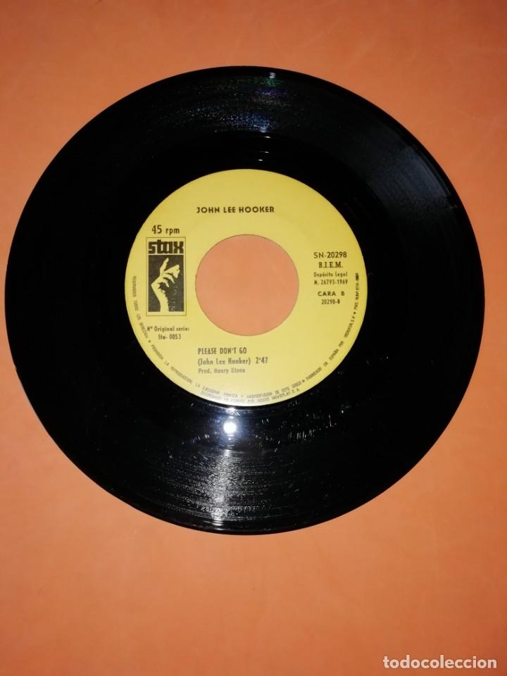 Discos de vinilo: JOHN LEE HOOKER. GRINDER MAN. PLEASE DONT GO. STAX 1969 - Foto 4 - 182258185