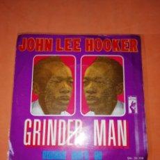 Discos de vinilo: JOHN LEE HOOKER. GRINDER MAN. PLEASE DONT GO. STAX 1969. Lote 182258185