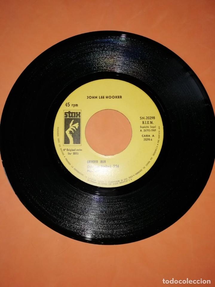 Discos de vinilo: JOHN LEE HOOKER. GRINDER MAN. PLEASE DONT GO. STAX 1969 - Foto 3 - 182258185