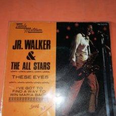 Discos de vinilo: JR. WALKER & THE ALL STARS. THESE EYES. TAMLA MOTOWN 1970. Lote 182260170