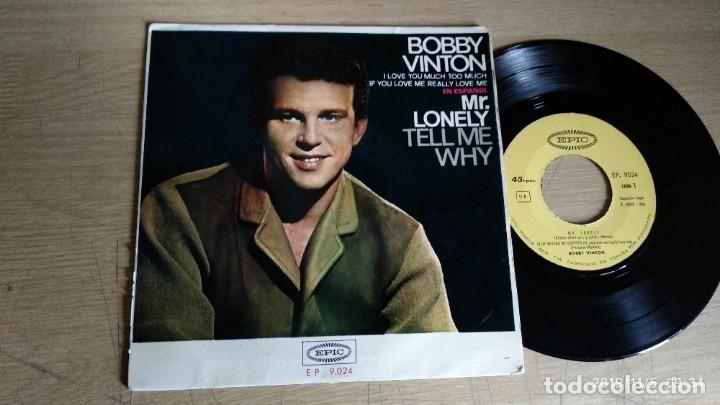 EP-BOBBY VINTON-CANTA EN ESPAÑOL-MR.LONELY-1965-SPAIN- (Música - Discos de Vinilo - EPs - Pop - Rock Extranjero de los 50 y 60)