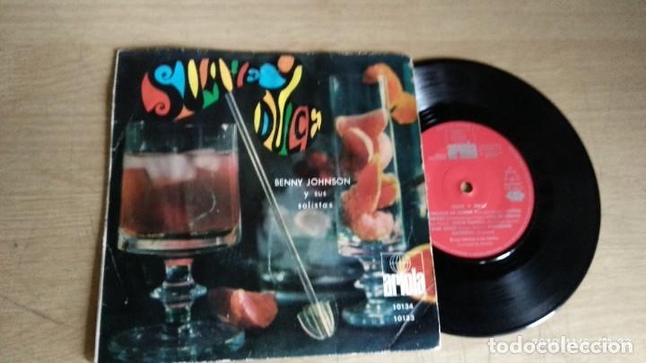 EP-BENNY JOHNSON Y SUS SOLISTAS-SOS-CORAZON EN APUROS-1968-SPAIN-CIRCULO DE LECTORES- (Música - Discos de Vinilo - EPs - Pop - Rock Extranjero de los 50 y 60)