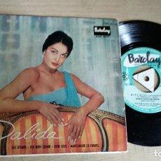 Discos de vinilo: EP-DALIDA-LES GITANS-1969-SPAIN-. Lote 182262161