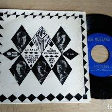 Discos de vinilo: EP-LOS MUSTANG-LA LA LA-1966-SPAIN-. Lote 182262412