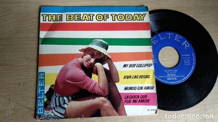 EP-THE BEAT OF TODAY-LAURA LEE,HAL PRINCE,TONY STEVEN,DEREK PLAYER-1964-SPAIN- (Música - Discos de Vinilo - EPs - Pop - Rock Extranjero de los 50 y 60)