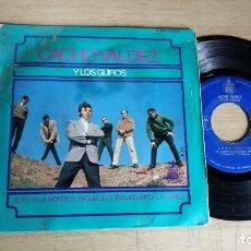 Discos de vinilo: EP-CHACHO VALDEZ Y LOS GUIROS-EL YO-YO-1967-SPAIN-. Lote 182263676