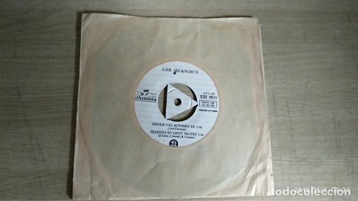 EP-LOS QUANDO´S-DONDE VAS ALFONSO XII-1965-PROMOCIONAL- (Música - Discos de Vinilo - EPs - Pop - Rock Extranjero de los 50 y 60)