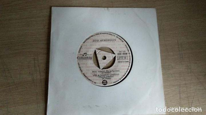 EP-DUO ACROPOLIS-NOS VAMOS-1965-SPAIN-PROMOCIONAL- (Música - Discos de Vinilo - EPs - Pop - Rock Extranjero de los 50 y 60)