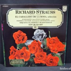 Discos de vinilo: RICHARD STRAUSS. EL CABALLERO DE LA ROSA. SALVAT. 1982.. Lote 182265406