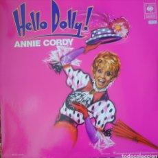 Discos de vinilo: ANNIE CORDY LP PORTADA DOBLE SELLO CBS EDITADO EN FRANCIA DEL MUSICAL HELLO DOLLY!. Lote 182265567