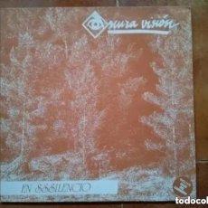 Discos de vinilo: OSCURA VISION - EN SSSILENCIO (MINI LP) 1991. Lote 182270786