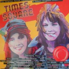 Discos de vinilo: BANDA SONORA DE LA PELÍCULA TIMES SQUARE LP DOBLE 2 DISCOS SELLO RSO EDITADO EN ESPAÑA AÑO 1980. Lote 182272478
