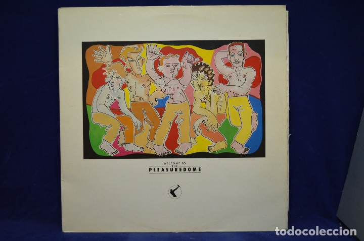 FRANKIE GOES TO HOLLYWOOD - WELCOME TO THE PLEASUREDOME - 2 LP (Música - Discos - LP Vinilo - Pop - Rock - New Wave Extranjero de los 80)
