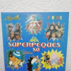 Discos de vinilo: SUPERPEQUES 80. Lote 182281065