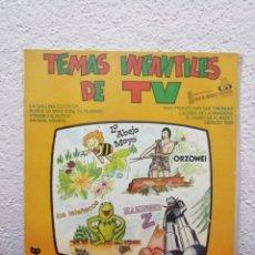 Discos de vinilo: TEMAS INFANTILES DE TV. Lote 182281287