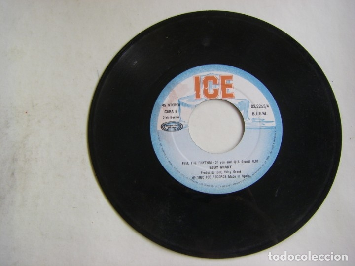 Discos de vinilo: Eddy Grant-My Turn To Love You , ICE, Movieplay 02.2265/4 - Foto 5 - 182286500