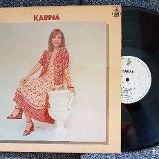 Discos de vinilo: KARINA. L.P GRANDES EXITOS. EDITADO POR HISPAVOX. AÑO 1978. Lote 182295871