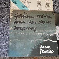 Discos de vinilo: LUAN PARDO. GALICIA MIÑA NAI DOS DOUS MARES. EDITADO POR ARIOLA.1976. SPAIN. . Lote 182297377
