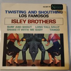 Discos de vinilo: ISLEY BROTHERS. EP 1963. SURF AND SHOUT. LONG TALL SALLY + 2. Lote 182298600