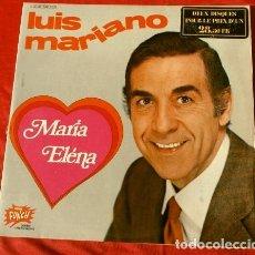 Discos de vinilo: LUIS MARIANO (LP. DOBLE FRANCES 1973) MARIA ELENA - LA NOVIA DE ESPAÑA, HASTA 28 TEMAS. Lote 182300605