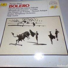 Discos de vinilo: MAURICE RAVEL - BOLERO - LP - DEUTSCHE 1986 HOLLAND. Lote 182309337