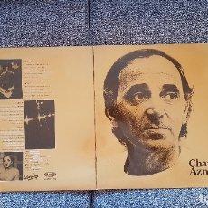 Discos de vinilo: CHARLES AZNAVOUR. ORO. DOBLE ALBUM CANTADO EN ESPAÑOL. EDITADO POR MOVIEPLAY. AÑO 1982. SPAIN. Lote 182313868