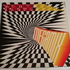 Discos de vinilo: TECHNOTRONIC - MEGAMIX - 1990. Lote 182327578