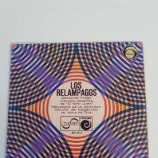 Discos de vinilo: LOS RELAMPAGOS DANZA DEL FUEGO + 3 ( 1966 ZAFIRO NOVOLA ESPAÑA ) . Lote 182332151