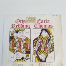 Discos de vinilo: OTIS REDDING CARLA THOMAS REY Y REINA TRAMP +3 ( 1967 ATLANTIC HISPAVOX ESPAÑA ) KNOCK ON WOOD. Lote 182332240