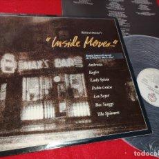 Discos de vinilo: MAX'S BAR BSO OST INSIDE MOVES LP 1981 WARNER BROS RECORDS SPAIN ESPAÑA. Lote 182332893