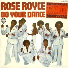 Discos de vinilo: ROSE ROYCE ‎– DO YOUR DANCE. Lote 182333013