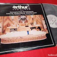 Discos de vinilo: ARTHUR BSO OST BURT BACHARACH+CAROLE BAYER SAGER+ETC LP 1981 WARNER BROS SPAIN ESPAÑA. Lote 182333025