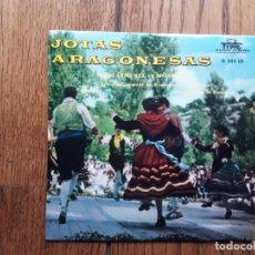 Discos de vinilo: JOTAS ARAGONESAS - ANGEL GIMENEZ ET MONCAYO - FIESTA EN EL PUEBLO +3. Lote 182348353