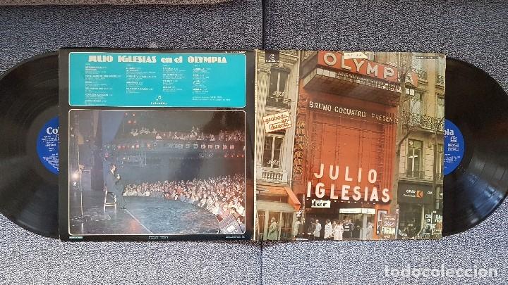 JULIO IGLESIAS. LP EN EL OLYMPIA. ALBUM DOBLE.EDITADO POR COLUMBIA. AÑO 1976. SPAIN. (Música - Discos - LP Vinilo - Solistas Españoles de los 70 a la actualidad)
