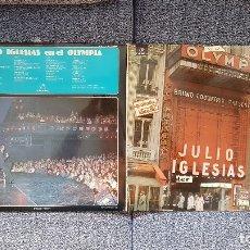 Discos de vinilo: JULIO IGLESIAS. LP EN EL OLYMPIOA. ALBUM DOBLE.EDITADO POR COLUMBIA. AÑO 1976. SPAIN.. Lote 182352515