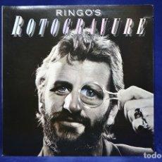 Discos de vinilo: RINGO STARR - RINGO´S ROTOGRAVURE - LP. Lote 182352785