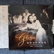 Discos de vinilo: GLORIA ESTEFAN. MI TIERRA. LP. EDITADO POR SONY MUSIC. AÑO 1993. SPAIN.. Lote 182353210