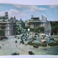 Discos de vinilo: TARJETA POSTAL SONORA FLEXIDISCO FONOSCOPE - LA CIBELES DE MADRID - 1958. Lote 182358530