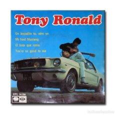 Discos de vinilo: TONY RONALD - UN BOCADITO TU, OTRO YO. Lote 182359700
