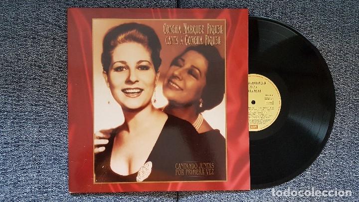 CONCHA MARQUEZ PIQUER CANTA A CONCHA PIQUER. LP. EDITADO POR EMI-ODEÓN. AÑO (Música - Discos - LP Vinilo - Flamenco, Canción española y Cuplé)
