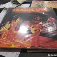 Discos de vinilo: LP THE HOLLIES LIVEBUEN ESTADO. Lote 182363062
