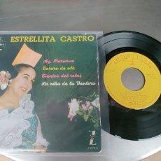 Discos de vinilo: ESTRELLITA CASTRO-EP AY MARICRUZ +3. Lote 182370025