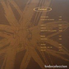 Discos de vinilo: ORBITAL - ORBITAL - DOBLE LP DE VINILO. Lote 182373882