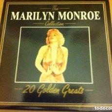 Discos de vinilo: MARILYN MONROE - 20 GOLDEN GREATS (1997. Lote 182375015
