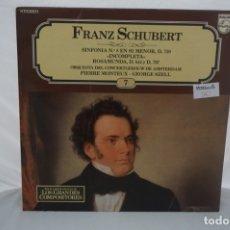 Discos de vinilo: LP - FRANZ SCHUBERT / SINFONIA Nº 8 EN SI MENOR D. 759 INCOMPLETA / PHILIPS. Lote 182375417