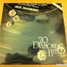 Discos de vinilo: NEIL DIAMOND HITS- (1979. Lote 182377918